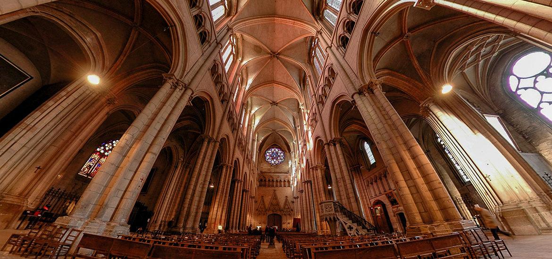 visite virtuelle cathédrale Saint-Jean Lyon