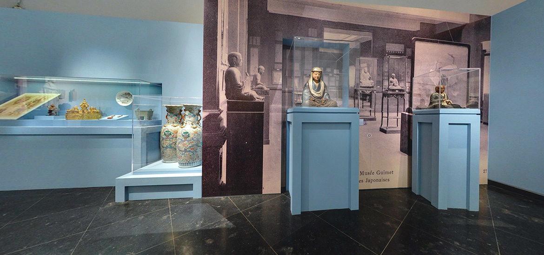 visite virtuelle expoition Emile Guimet