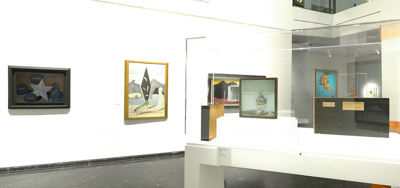 visite virtuelle exposition Dali, Duchamps, Cornell