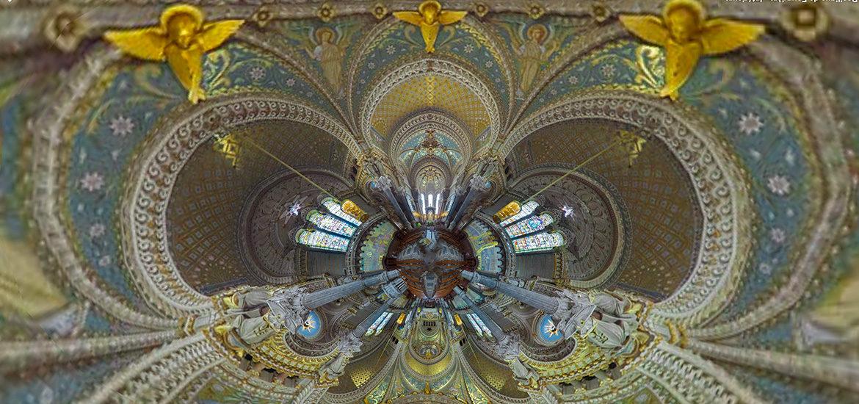 visite virtuelle basilique de Fourvière