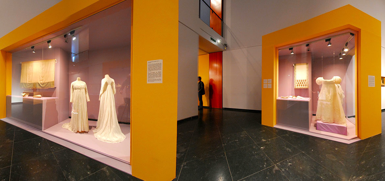visite virtuelle exposition Juliette Récamier Lyon