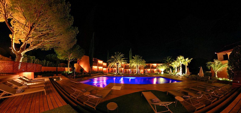 visite virtuelle hôtel Benkirai Saint-Tropez