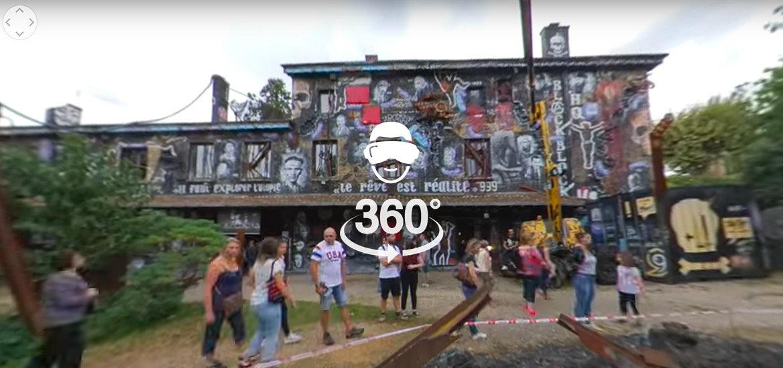 vidéo 360° timelapse