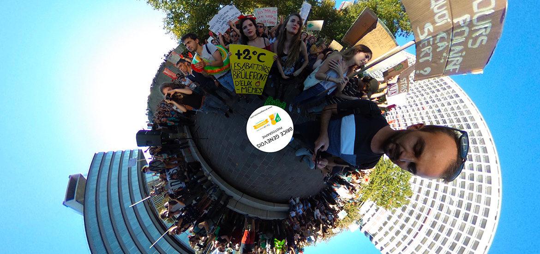 visite virtuelle marche pour le climat