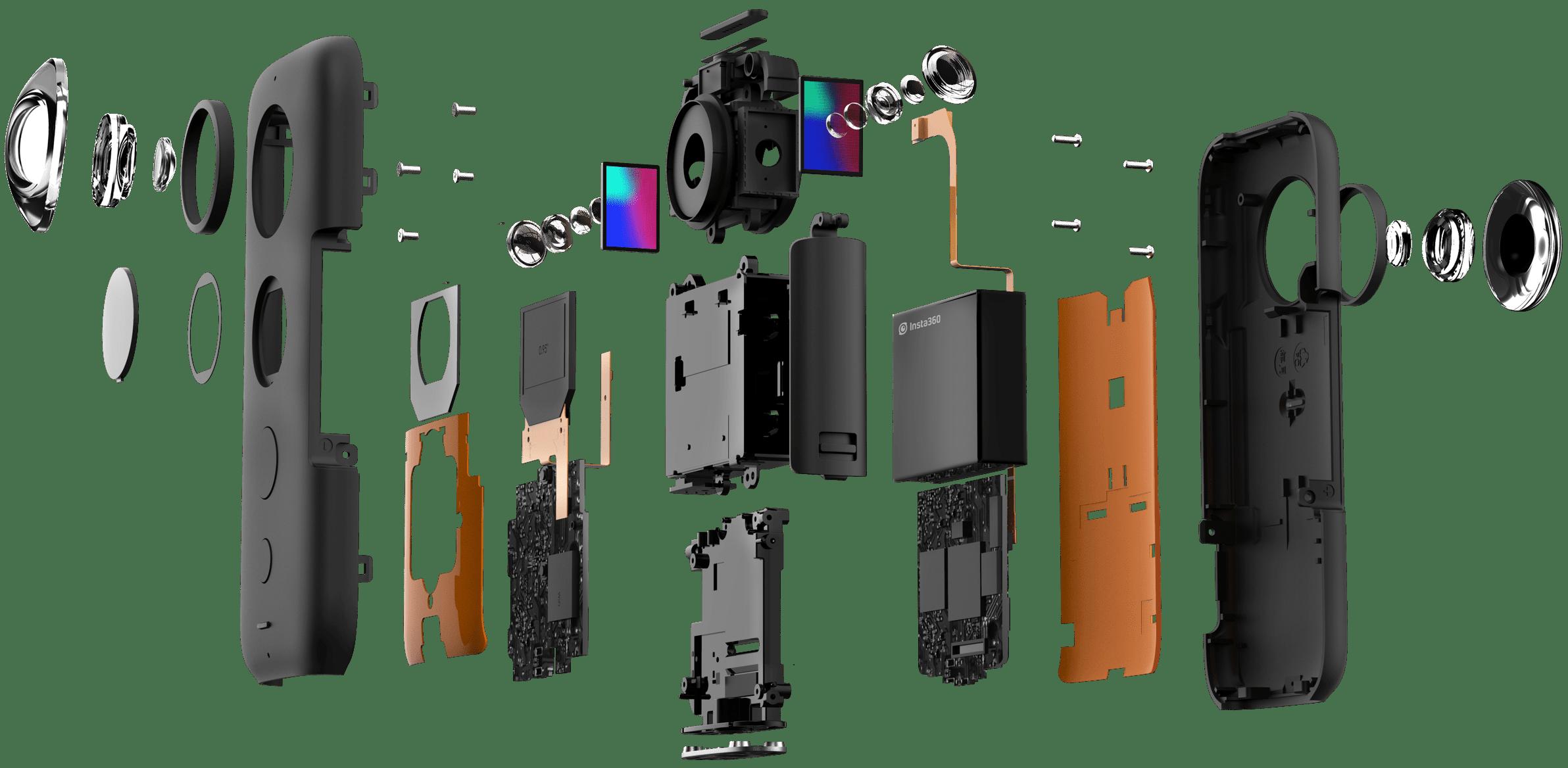 Test camera 360°: Insta 360 ONE X