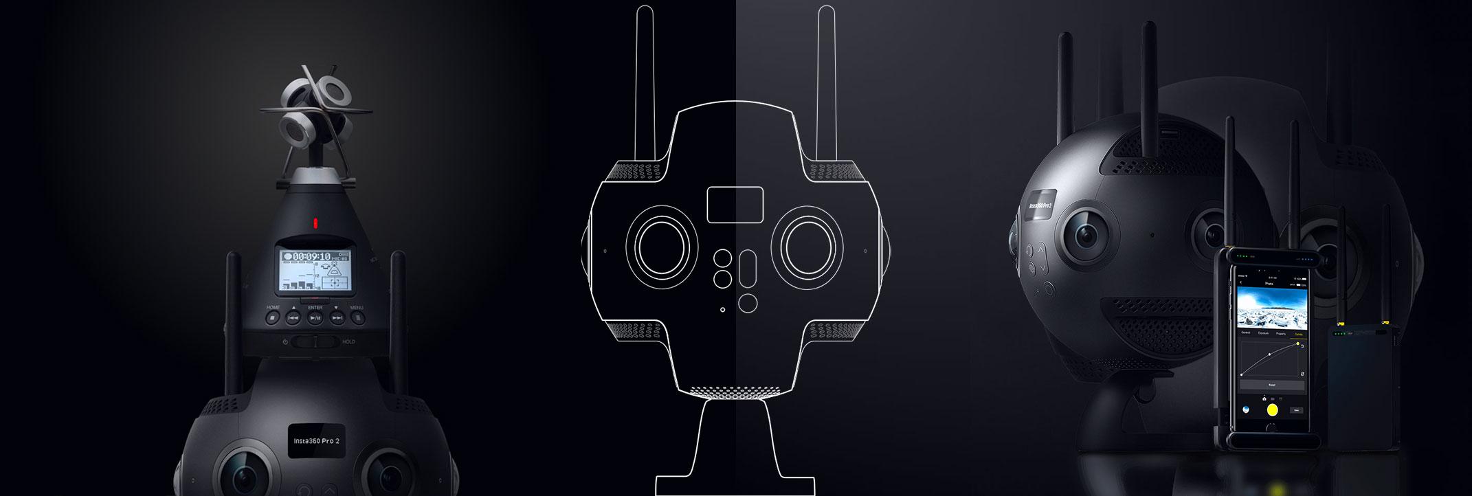 Vidéo/Photo 360° qualité 8K en 3D VR : test de l'Insta 360 PRO2
