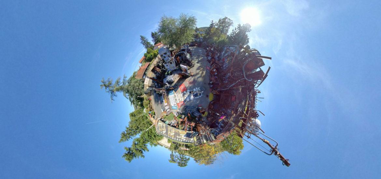 360 drone Lyon