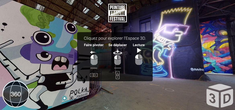 visite virtuelle penture fraîche festival lyon
