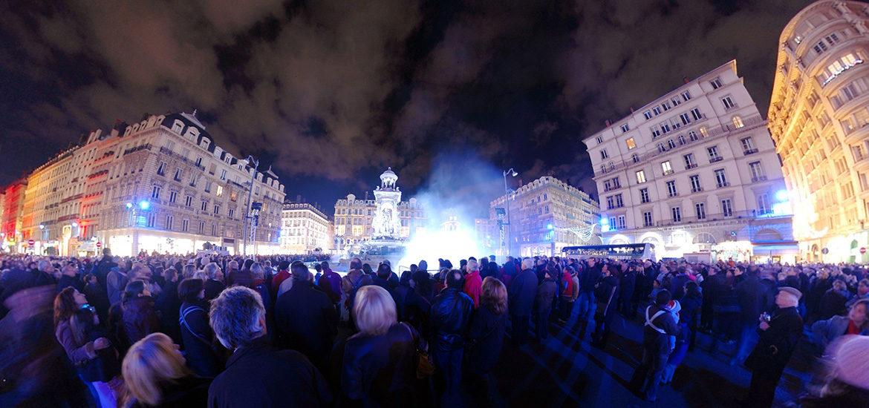visite virtuelle fête des lumières de Lyon