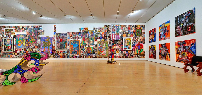 visite virtuelle exposition Robert Combas