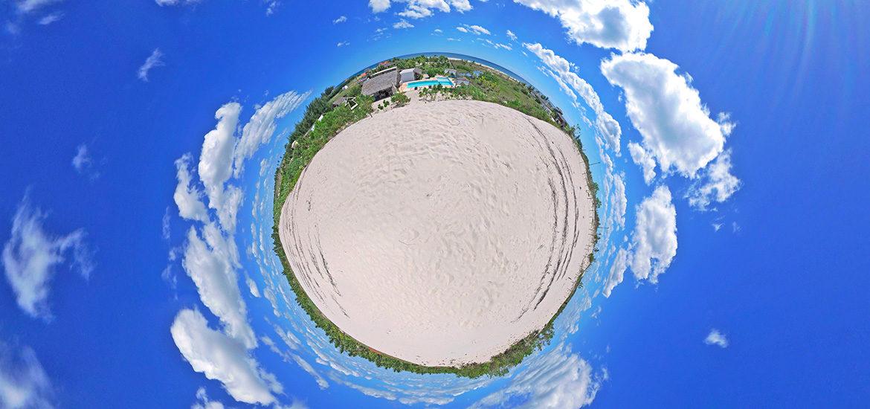 visite virtuelle éco lodge guest house brésil