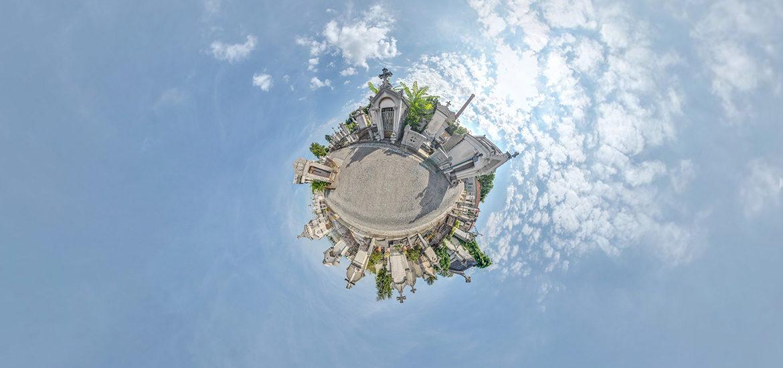 visite virtuelle cimetière Loyasse