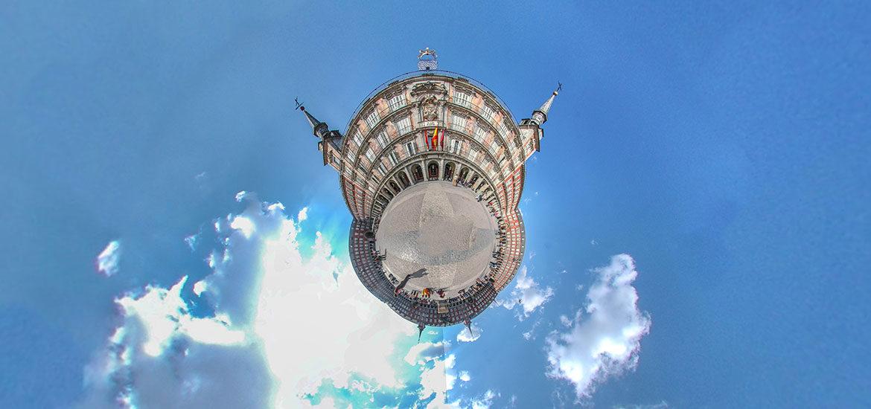 visite virtuelle Madrid