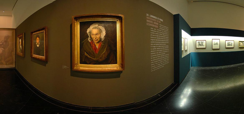visite virtuelle exposition Théodore Géricault