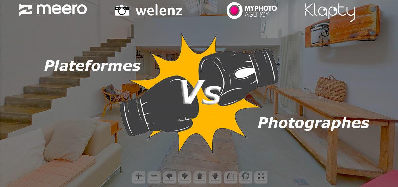 plateforme meero contre photographe pro