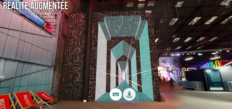visite virtuelle realite augmentee