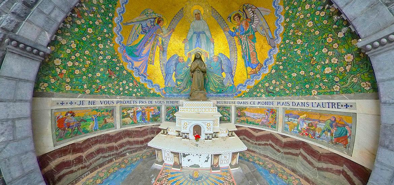 visite virtuelle Lourdes