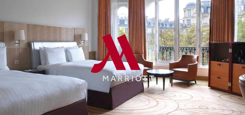 visite virtuelle Marriott Champs Élysées